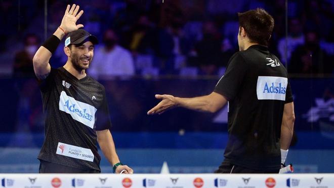 Sanyo Gutiérrez y Fernando Belasteguín lograron la victoria en el Adeslas Madrid Open