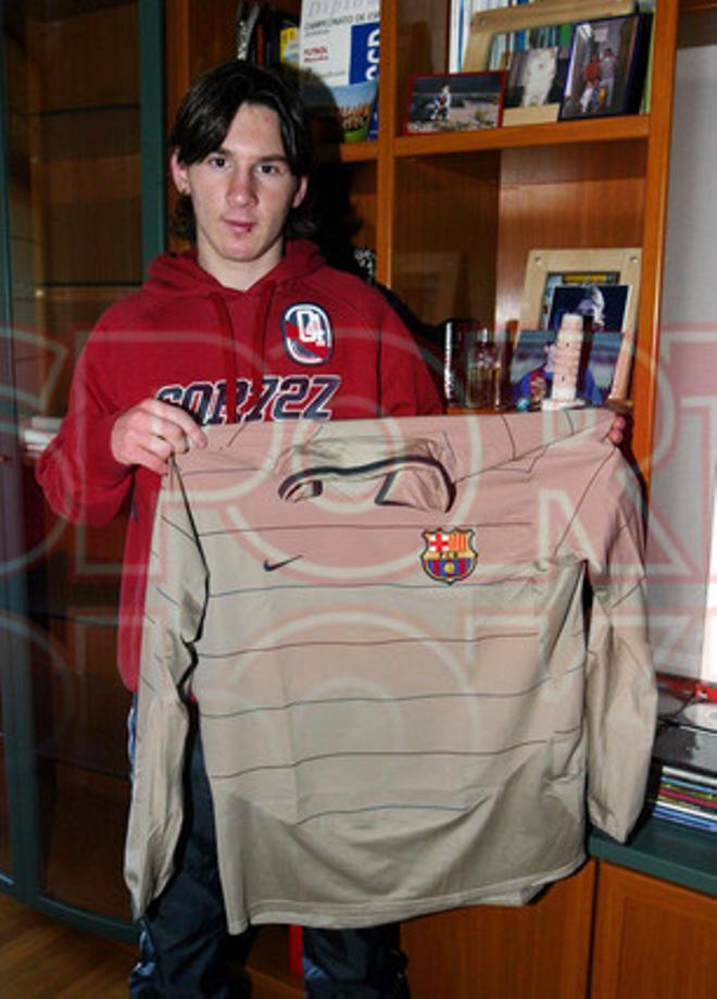 16.Leo Messi 2003-2004