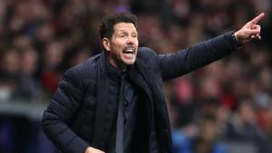 Diego Pablo Simeone amenaza con conseguir su primer triunfo en el Camp Nou
