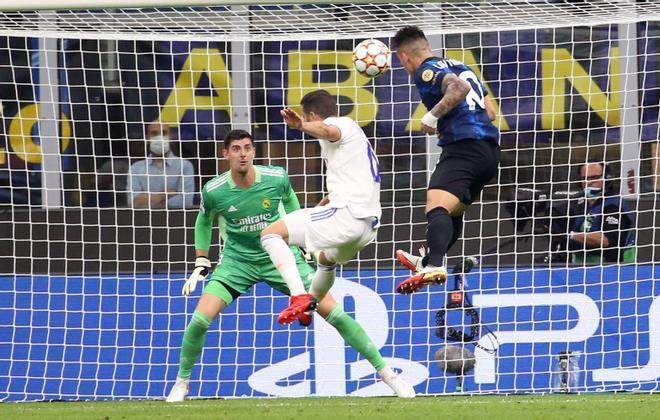 El Real Madrid consigue la victoria sobre la bocina ante el Inter