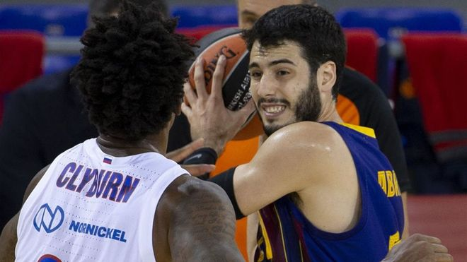 Abrines volvió a ser importante para el Barça