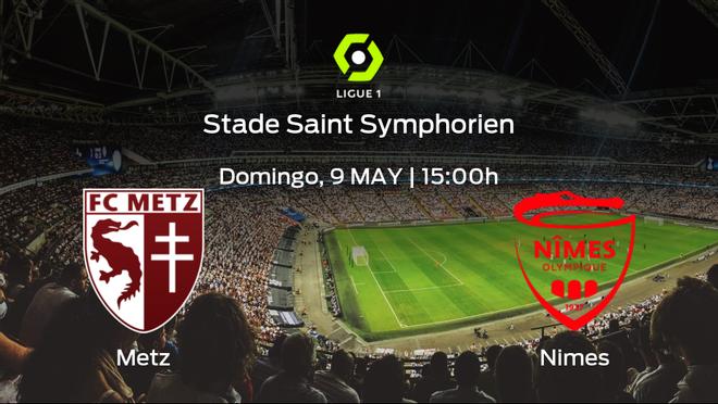 Previa del encuentro: el FC Metz recibe al Olimpique de Nimes