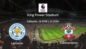 Previa del encuentro: el Leicester City recibe al Southampton