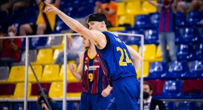 Kuric fue un ciclón en el tercer cuarto y llevó al Barça a semifinales