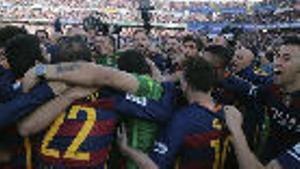 LALIGA   FC Barcelona - Atlético (1-0): El golazo de Messi de falta