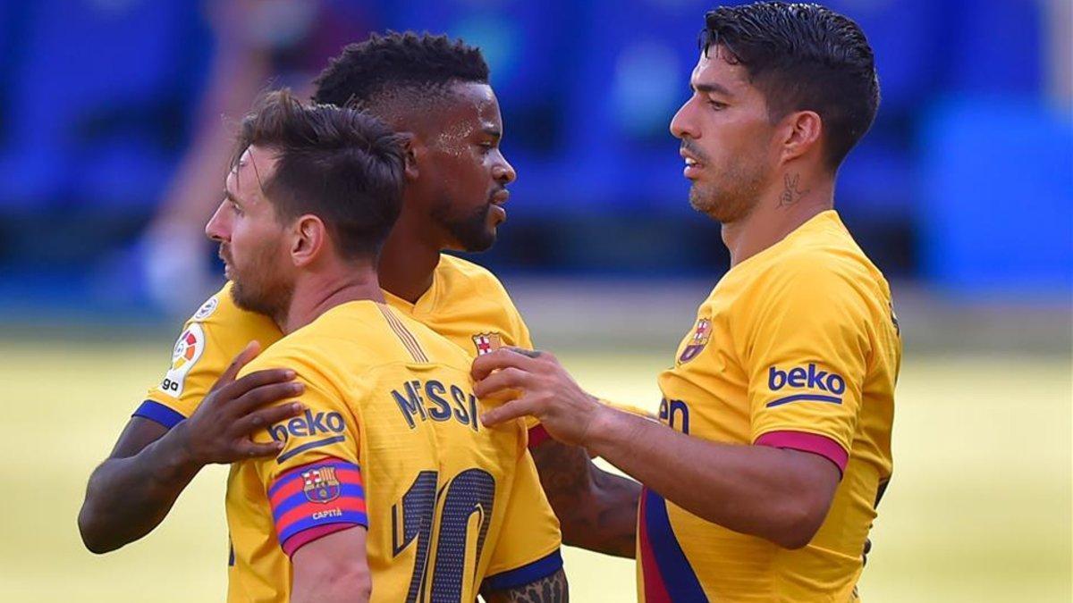 Semedo y Messi son instransferibles; Suárez, no