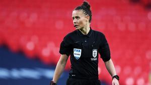 Rebecca Welch durante la final de la FA Cup femenina