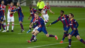 El Barça no ganó como comodidad en el Camp Nou