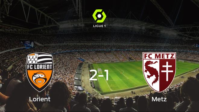 El Lorient logra una ajustada victoria en casa frente al FC Metz (2-1)