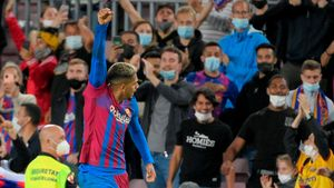 Araujo empató el partido ante el Granada en el último tramo del partido