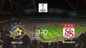 Triunfo del Maccabi Tel Aviv por 1-0 frente al Sivasspor