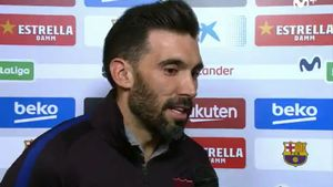 Eder Sarabia habló sobre las polémicas imágenes del Bernabéu
