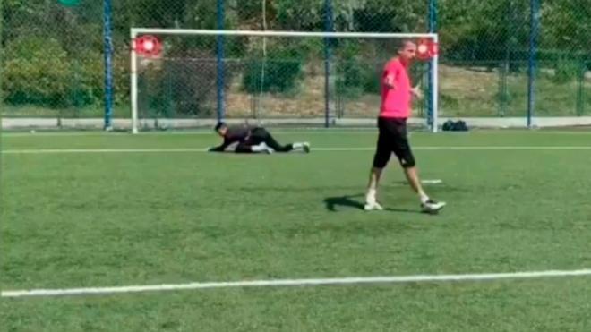 Cristóbal Soria imita a los jugadores del Real Madrid... Atentos a la de Vinicius. ¡Imperdible!