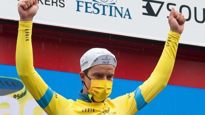 Scotson, primer líder de la Vuelta a la Comunidad Valenciana