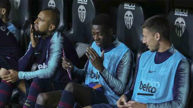 Dembélé es uno de los suplentes de Valverde