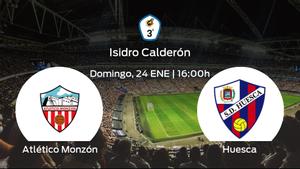 Previa del encuentro: el Huesca B defiende su liderato ante el Atlético Monzón