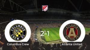 El Columbus Crew se queda con los tres puntos frente al Atlanta United (2-1)