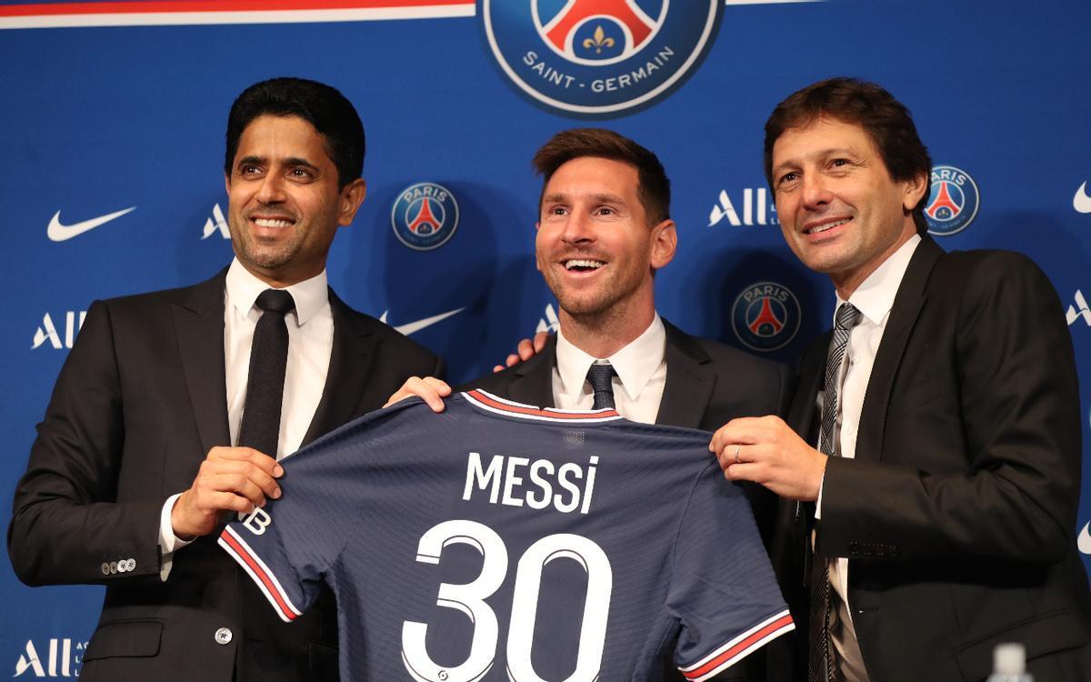 Leonardo: Creo que la idea de Messi era quedarse en el Barcelona