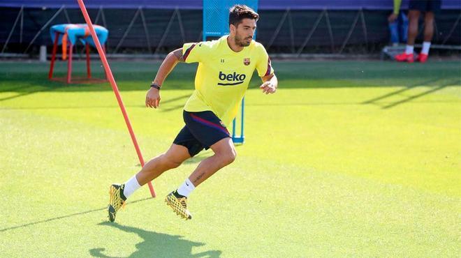 Aquí tienes la prueba de que Luis Suárez está en plena forma para el inicio de la Liga
