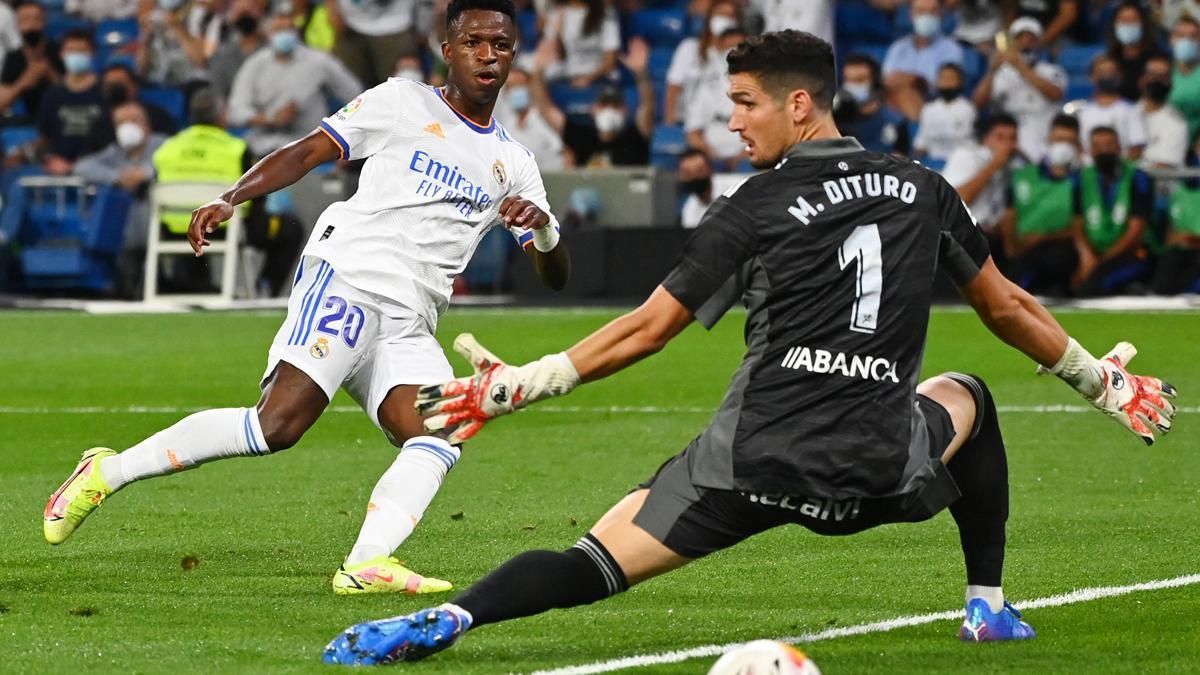Vinicius lleva cuatro goles en cuatro partidos