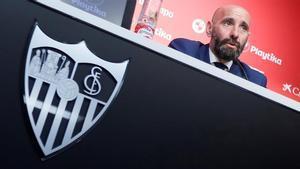 Monchi se siente a gusto en Sevilla