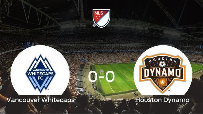 El Vancouver Whitecaps y el Houston Dynamo se reparten los puntos en un partido sin goles (0-0)