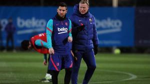 Así ha sido el primer entrenamiento del 2021 para el Barça
