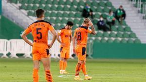 El Valencia ha perdido sus tres últimos partidos