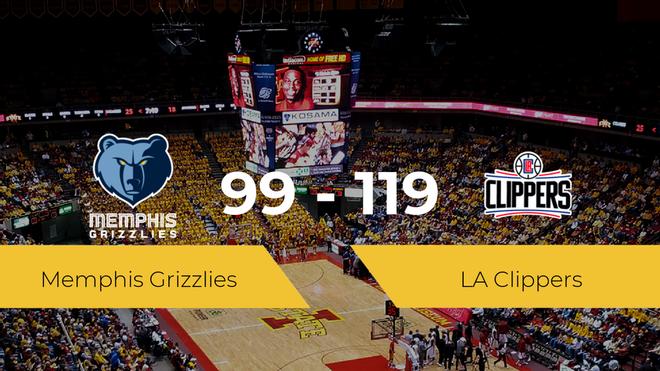 LA Clippers consigue la victoria frente a Memphis Grizzlies por 99-119