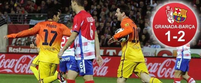 Messi marcó dos goles que valieron tres puntos