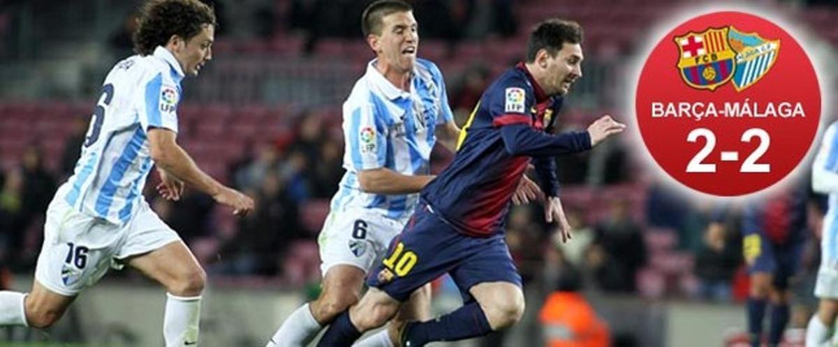 Messi se inventó un gol de la nada cuando el Barça perdía 0-1