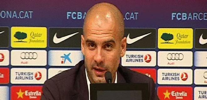 Guardiola: Hoy hemos sido superiores, pero no somos invencibles