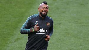 Vidal: No juegan con equipos de Bundesliga sino con el mejor del mundo