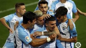 El resumen de la victoria del Málaga ante el Rayo Vallecano
