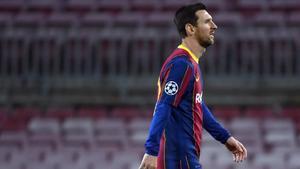 Messi será suplente ante el Betis