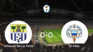 El Alhaurín De La Torre y El Palo empatan sin goles en el Los Manantiales (0-0)