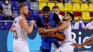 La defensa del Breogán llevó de cabeza al Barça