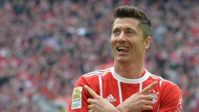 Robert Lewandowski lideró el cómodo triunfo del Bayern