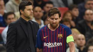 Pochettino, sobre el futuro de Messi