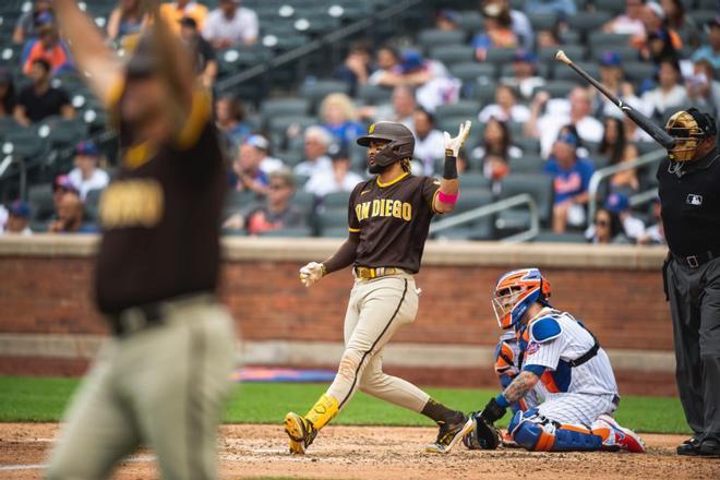 Tatis Jr. en un partido con los San Diego Padres.