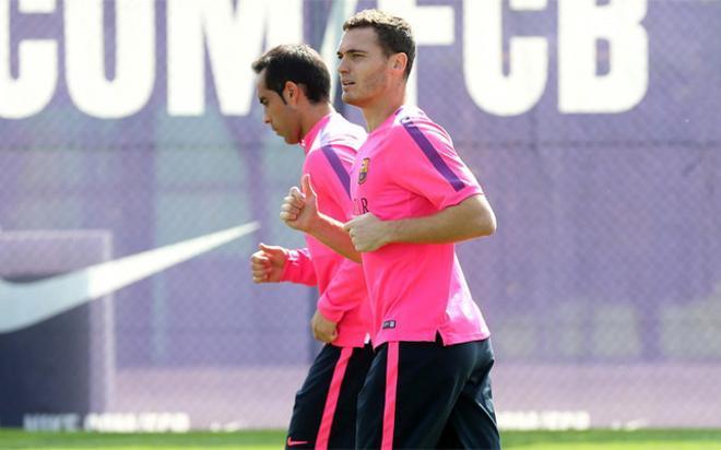 Bravo y Vermaelen, para la UEFA, no son campeones de la Champions League por no haber jugado ni un minuto en el torneo
