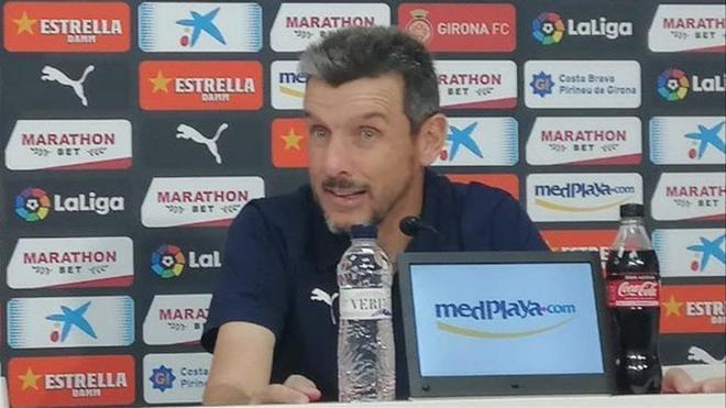 El Girona cesa a Juan Carlos Unzué, tras la jornada 12 de LaLiga Smartbank