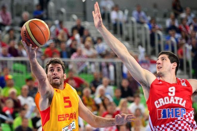 España,92 - Croacia,66