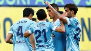 El Celta atropella al Villarreal