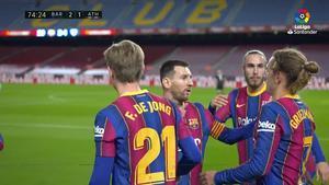 ¡Lo que no escuchaste ni viste de la celebración del gol de Griezmann!