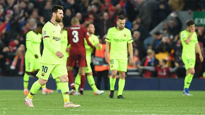 El video de un partido para olvidar: así fue la debacle del Barça en Anfield