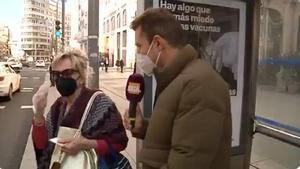Telemadrid capta una discusión entre dos señoras en la calle