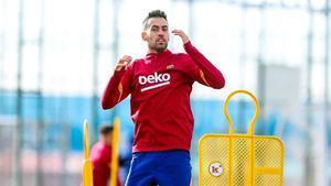 El FC Barcelona preparó el partido con el Eibar pendiente de Dembéle