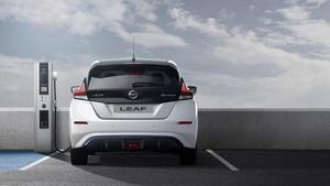 Un punto de recarga Nissan