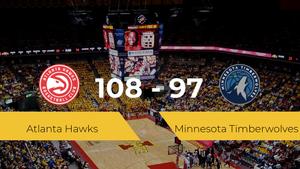 Atlanta Hawks se impone por 108-97 frente a Minnesota Timberwolves